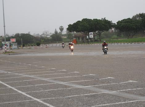 ארבעת פרשי האפוקליפסה חוזרים למגרש בגשם